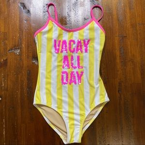 Shade Critters Vacay All Day Flip Sequin Swimsuit